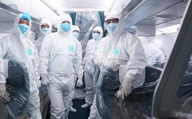 Thông tin mới về sức khỏe của tổ bay Vietnam Airlines đi từ Vũ Hán trở về  1