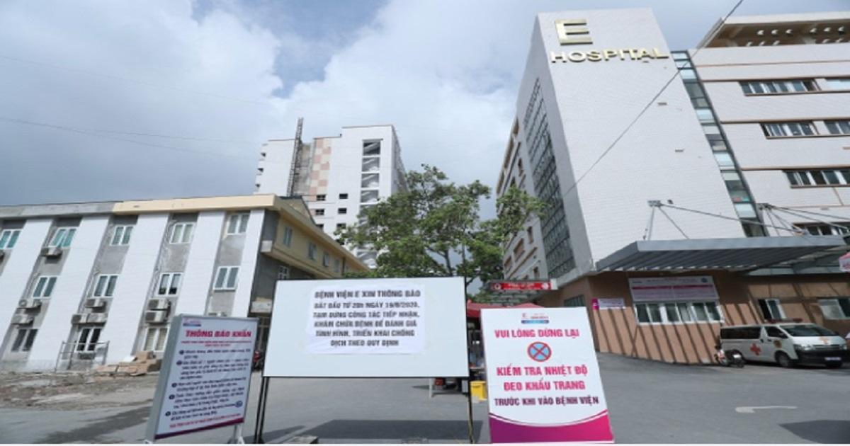 BN994  mắc covid-19 âm tính trở lại, bệnh viện E đếm ngược 'chờ lệnh' dỡ phong tỏa 1