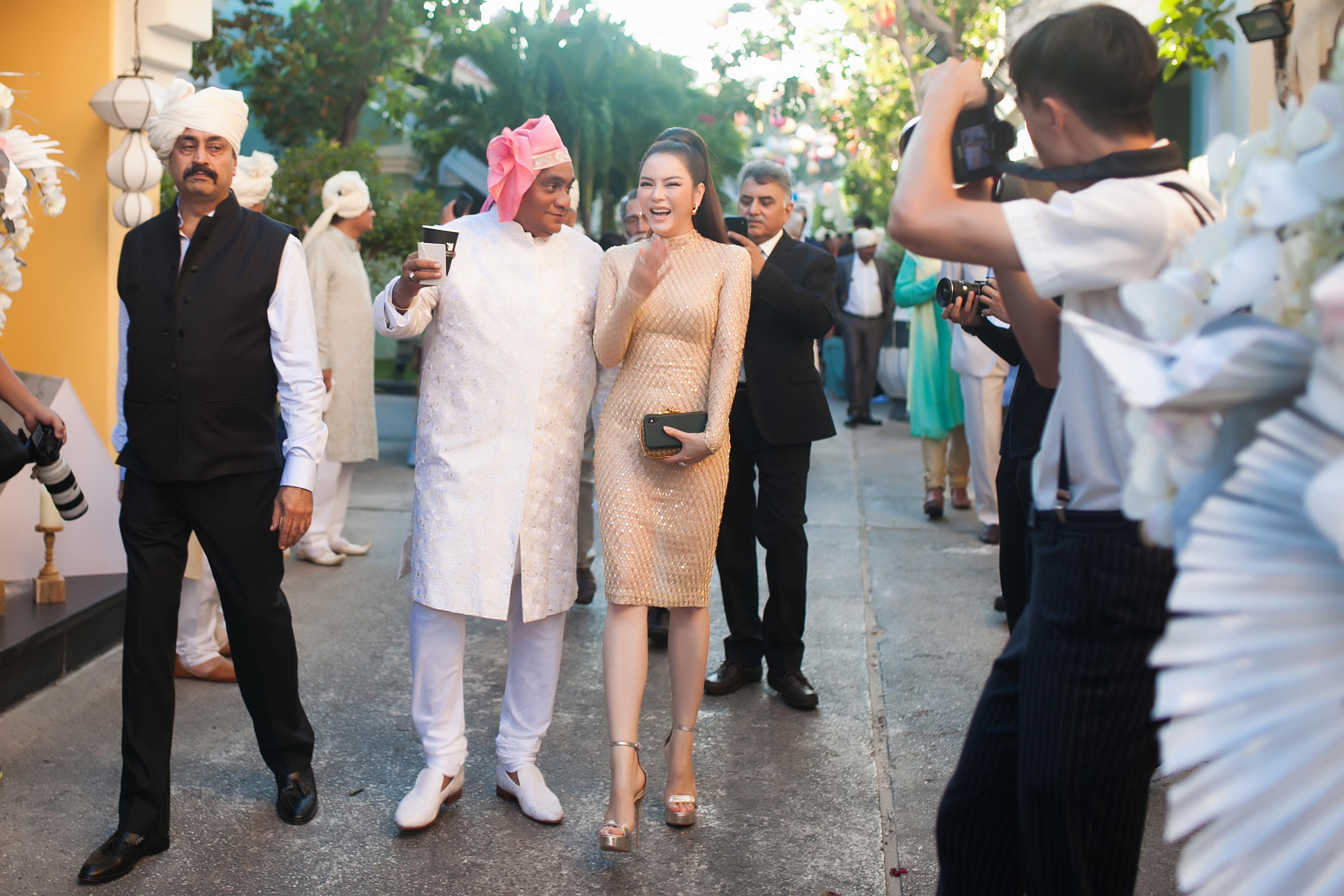 Lý Nhã Kỳ là khách VIP trong đám cưới tỷ phú Ấn Độ 4