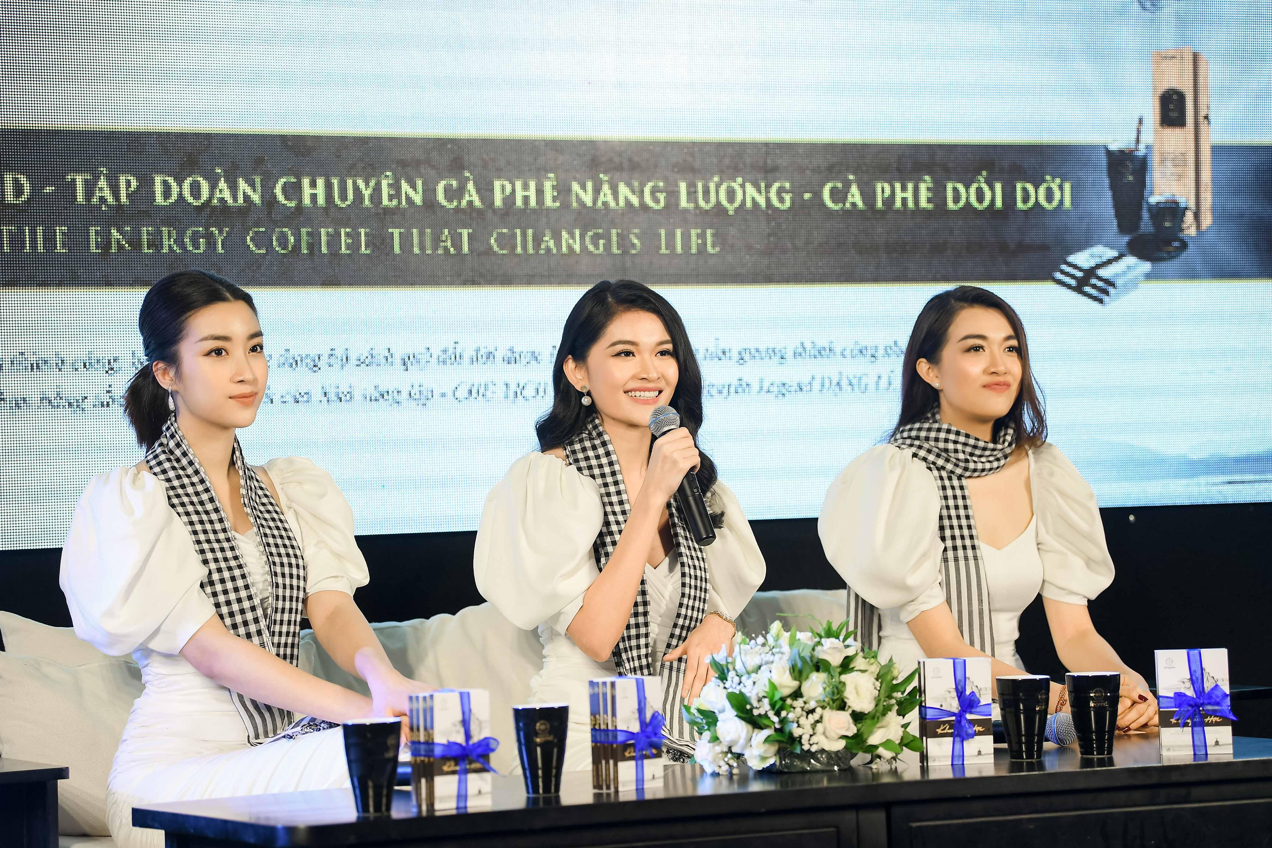 Hoa hậu Mỹ Linh đọ sắc cùng hai Á hậu bên siêu xe của ông Đặng Lê Nguyên Vũ 6