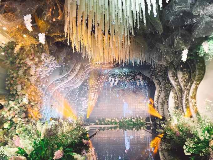 Đám cưới lung linh như cổ tích của rich kid Trinh Hoàng tại Hà Nội 3