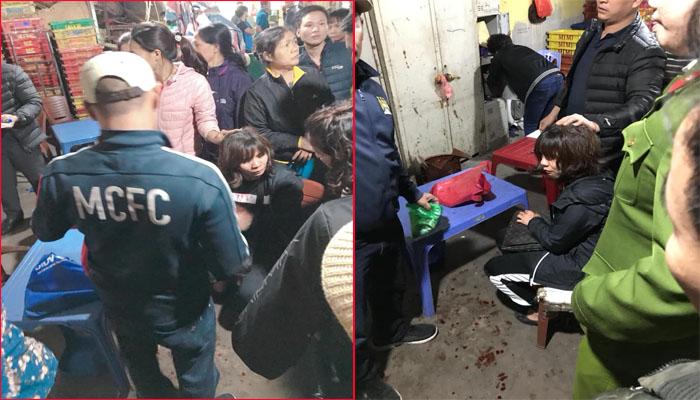 Bắt nghi phạm nổ súng cướp tiền tại chợ Long Biên 1