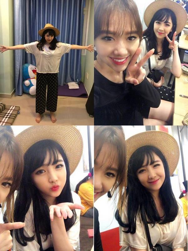 Đọ sắc dàn chị em gái cực phẩm nhà Nhã Phương với nhà Hari Won 9