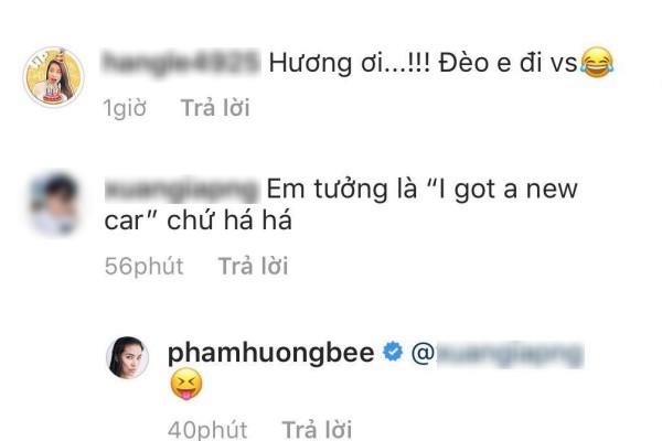 Phạm Hương khoe ảnh tóc mới nhưng dân mạng lại chỉ để ý chiếc siêu xe đằng sau 2