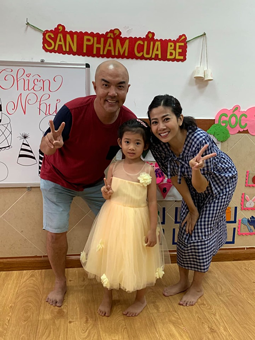 Mai Phương bất ngờ làm sinh nhật cho con gái trước 3 tháng 1