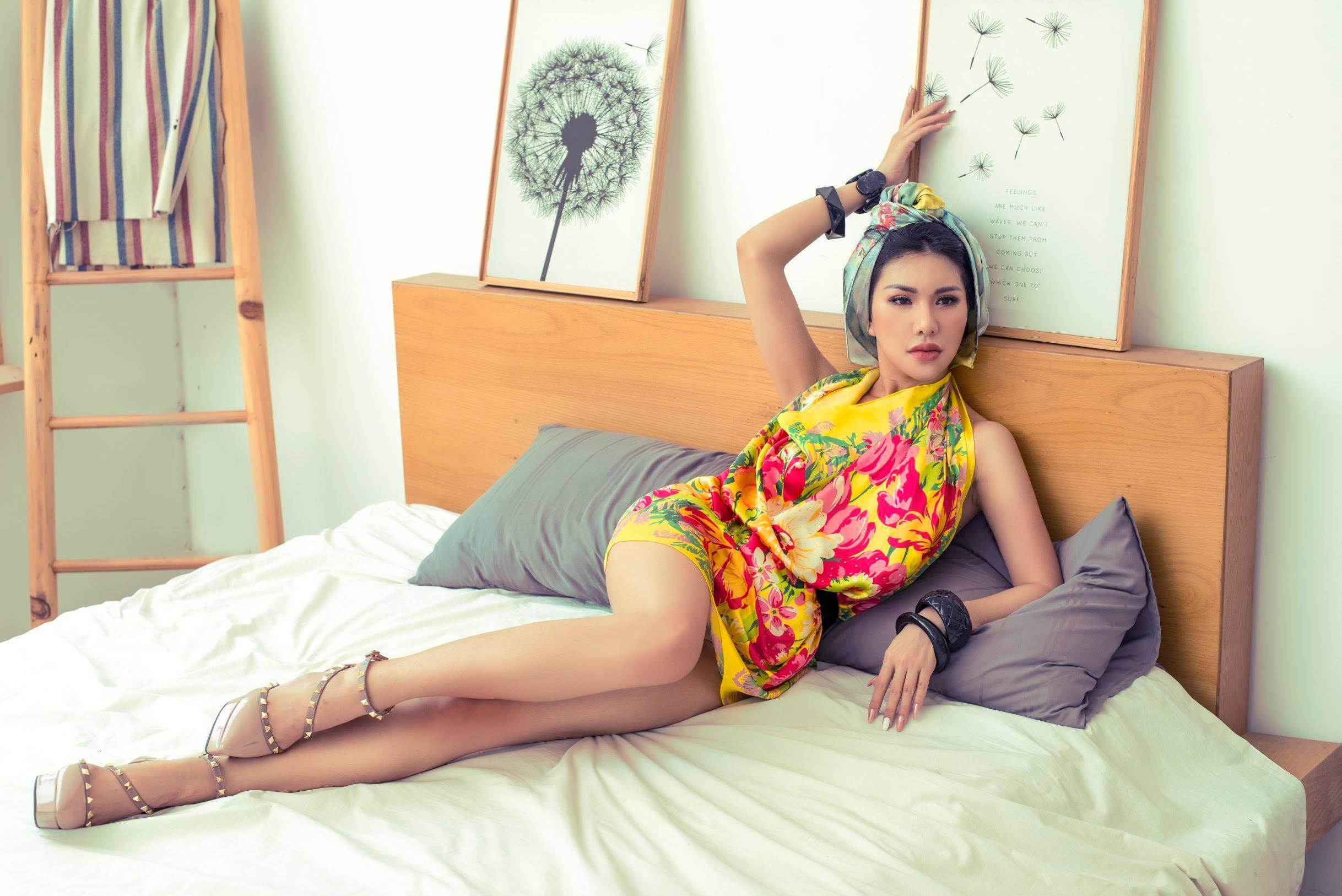Vẻ đẹp vạn người mê của nữ tiếp viên hàng không Vietnam Airlines trong bộ ảnh mới 2