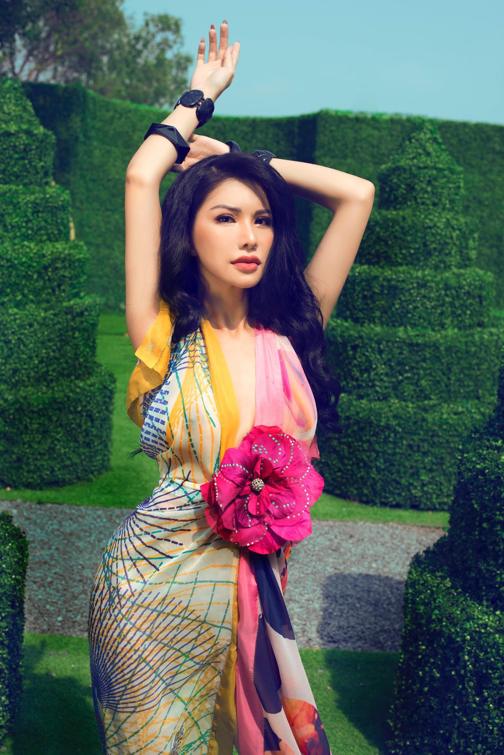 Vẻ đẹp vạn người mê của nữ tiếp viên hàng không Vietnam Airlines trong bộ ảnh mới 1