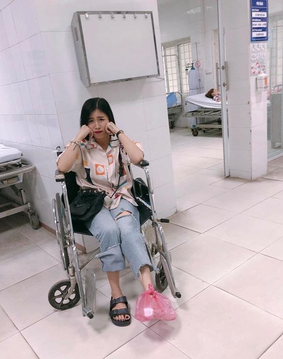 MC Hoàng Linh bị tai nạn phải nhập viện khiến fan hốt hoảng 1