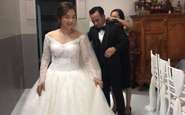 Bà xã Tiến Đạt đáp trả tin đồn cưới chạy bầu 1