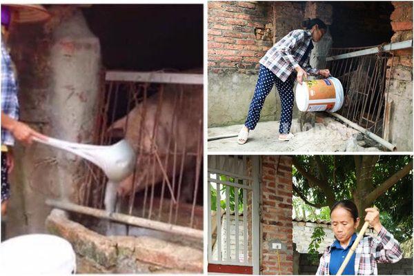 Xôn xao chiếc muôi 'khổng lồ' của bà Tân Vlog khuấy trà sữa, nấu lẩu dùng để xúc cám lợn? 1