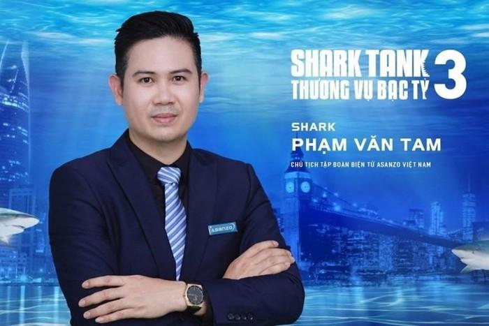 CEO Asanzo Phạm Văn Tam rút khỏi ghế cá mập của Shark Tank 1