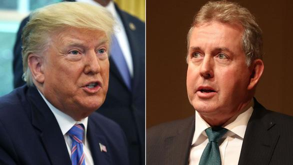 Đại sứ Anh tại Mỹ chê ông Trump bất tài xin từ chức 1