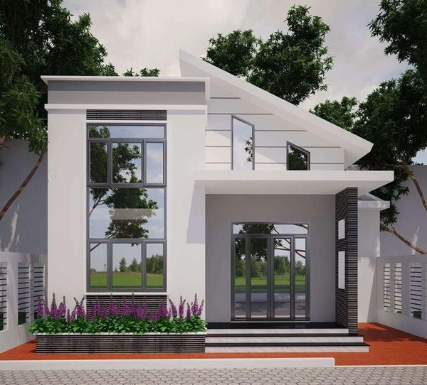 Tổng hợp những mẫu nhà cấp 4 đẹp nhất với chi phí xây dựng cực thấp 10