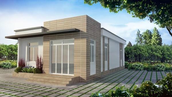 Tổng hợp những mẫu nhà cấp 4 đẹp nhất với chi phí xây dựng cực thấp 8