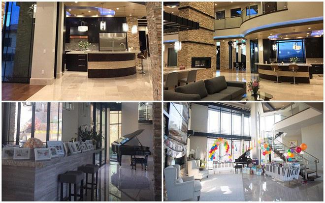 Vợ Đan Trường hé lộ chi tiết trong biệt thự 4.000 m2 như khách sạn 5 sao bên Mỹ 3
