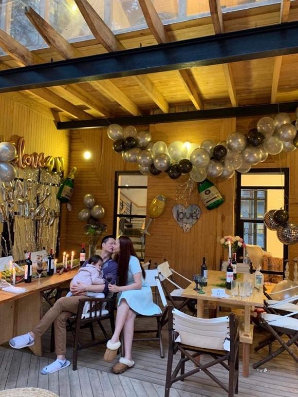 Phan Như Thảo tổ chức tiệc sinh nhật cho ông xã đại gia trong biệt thự tại Đà Lạt 2