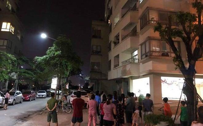 Hà Nội: Người phụ nữ rơi từ tầng 16 chung cư VOV Mễ Trì tử vong 1