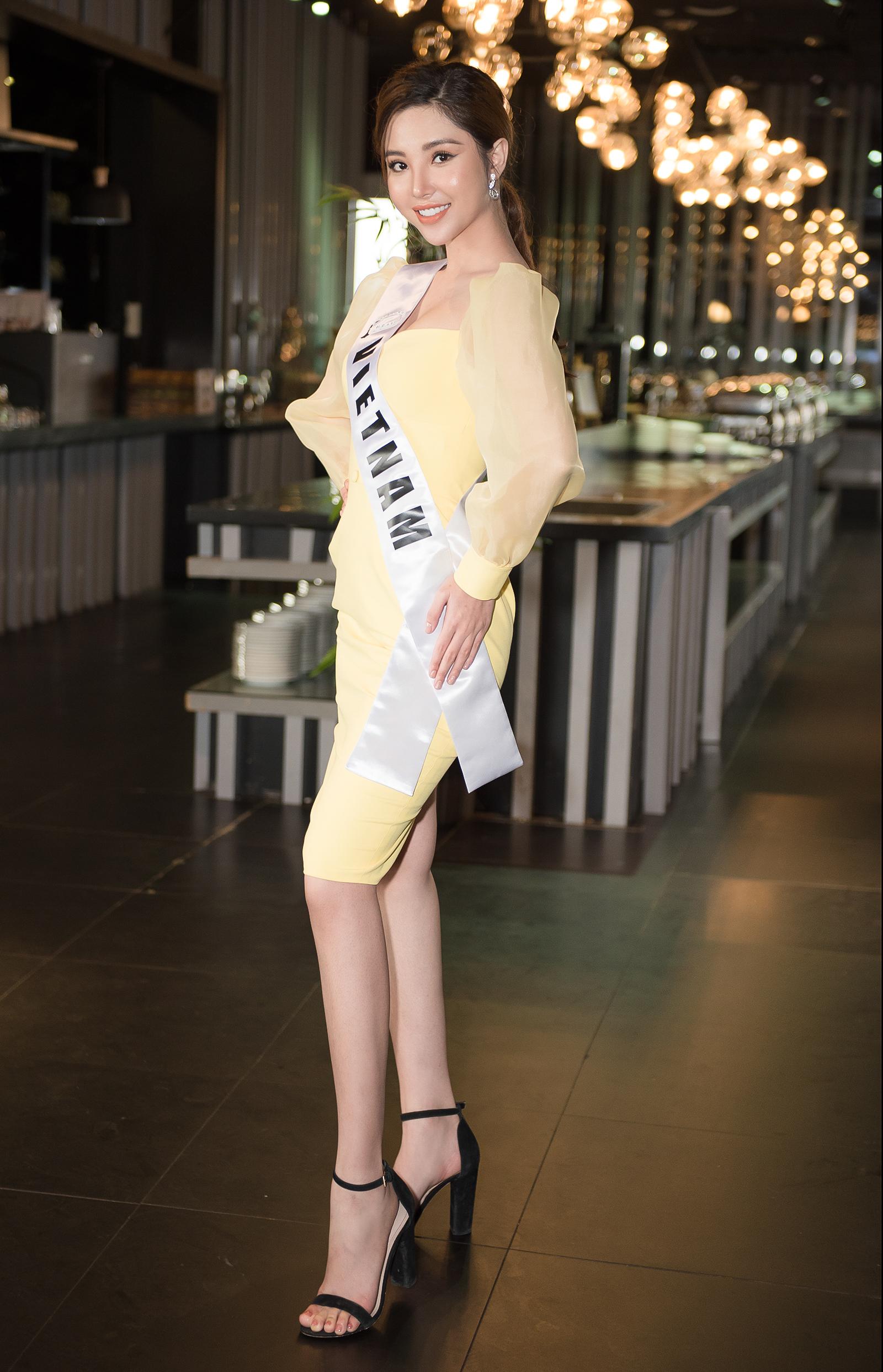 Mỹ nhân gốc Bạc Liêu gặp gỡ triệu phú Malaysia tại Miss International Globe 2