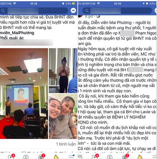 Ốc Thanh Vân bức xúc vì tên tuổi của Mai Phương tiếp tục bị giả mạo để trục lợi 1