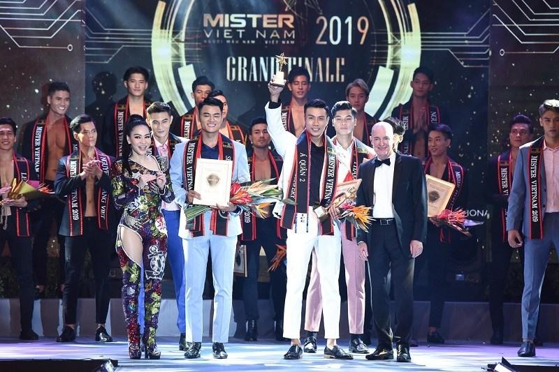 Chung kết Mister Việt Nam có tới 2 danh hiệu quán quân 4