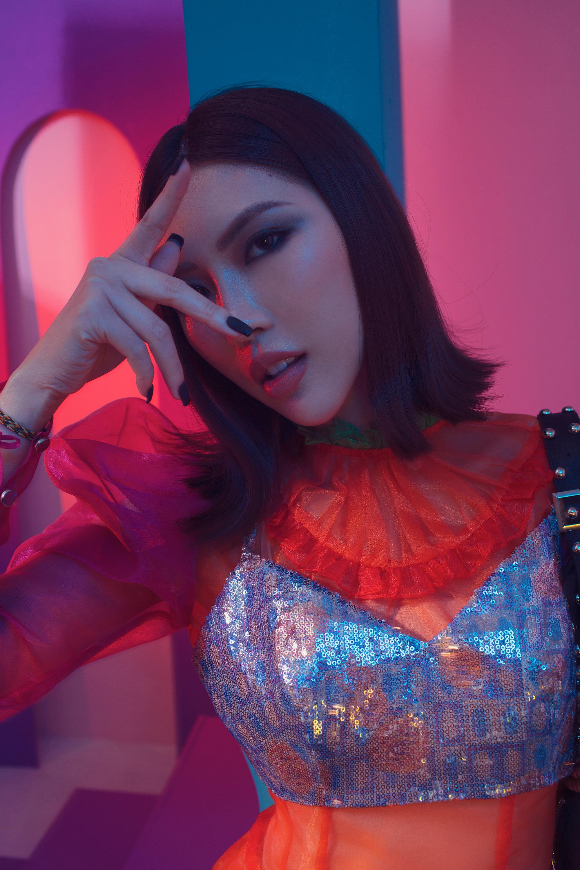 Hình ảnh hoàn toàn khác biệt của Tường Linh sau khi tham gia Hoa hậu Hoàn vũ 2019 6