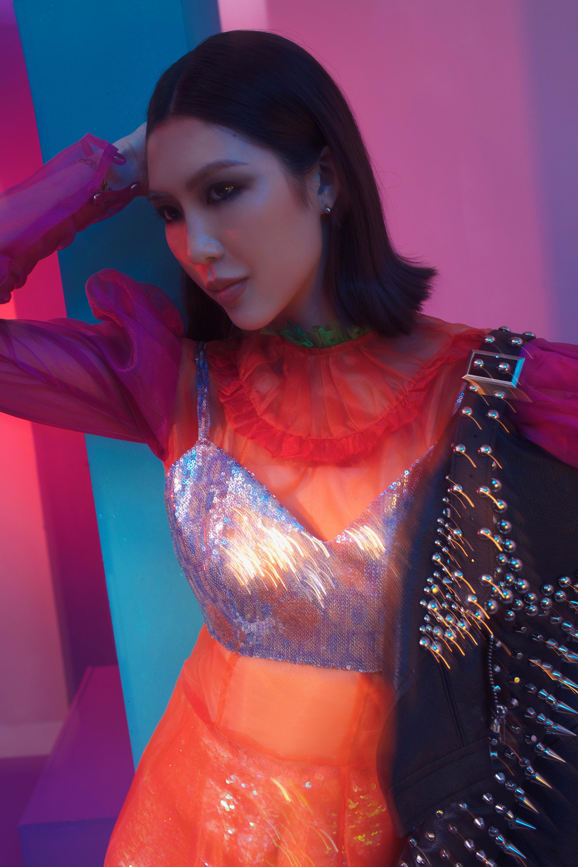 Hình ảnh hoàn toàn khác biệt của Tường Linh sau khi tham gia Hoa hậu Hoàn vũ 2019 5
