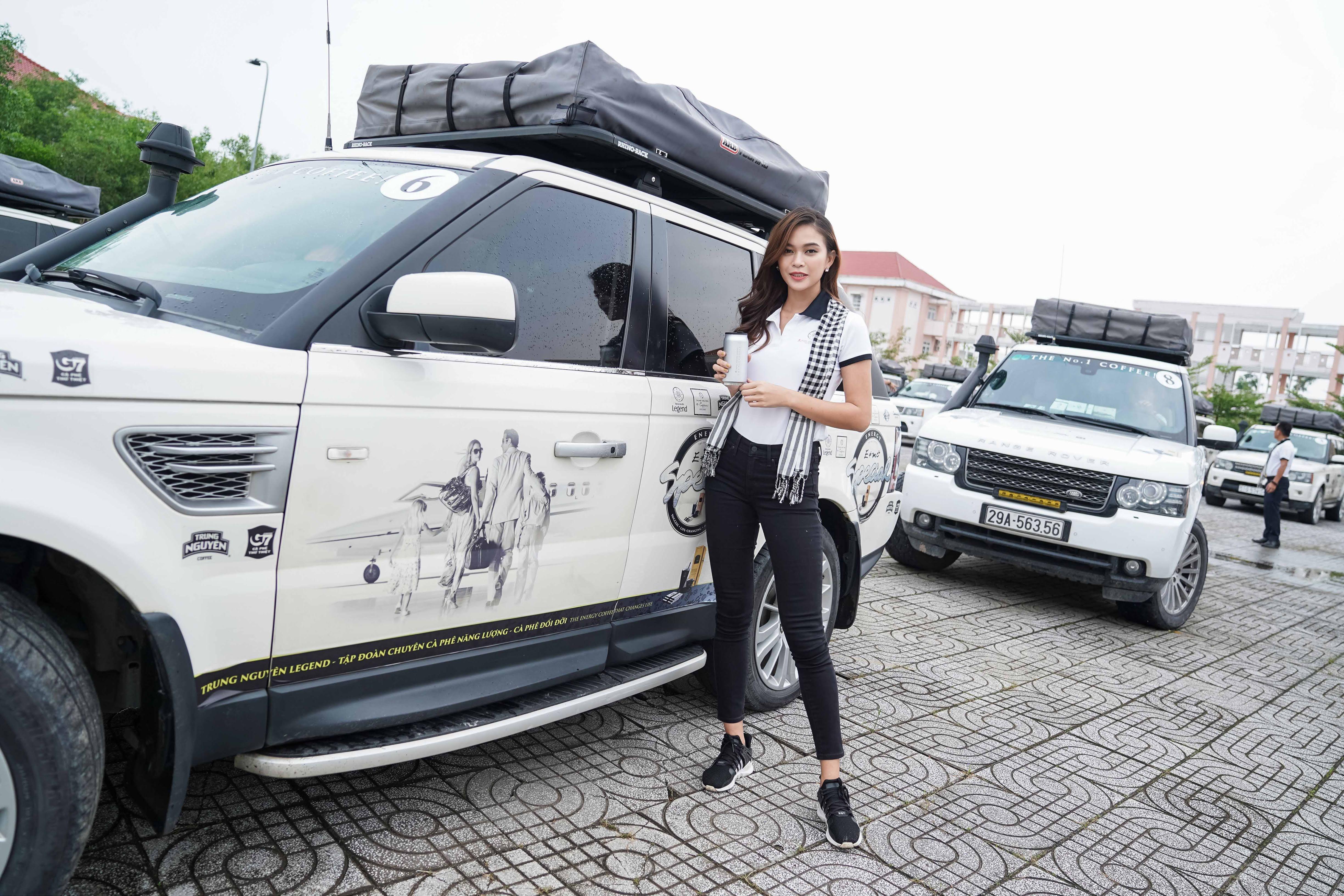 Xe sang của ông Đặng Lê Nguyên Vũ đưa đón Hoa hậu đẹp nhất Châu Á tại Cà Mau 1