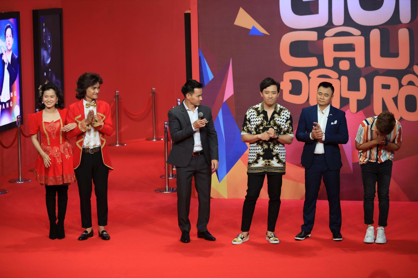 Trên sân khấu Ơn giời, Trường Giang hé lộ Hồ Quỳnh Hương là người mình từng theo đuổi 1