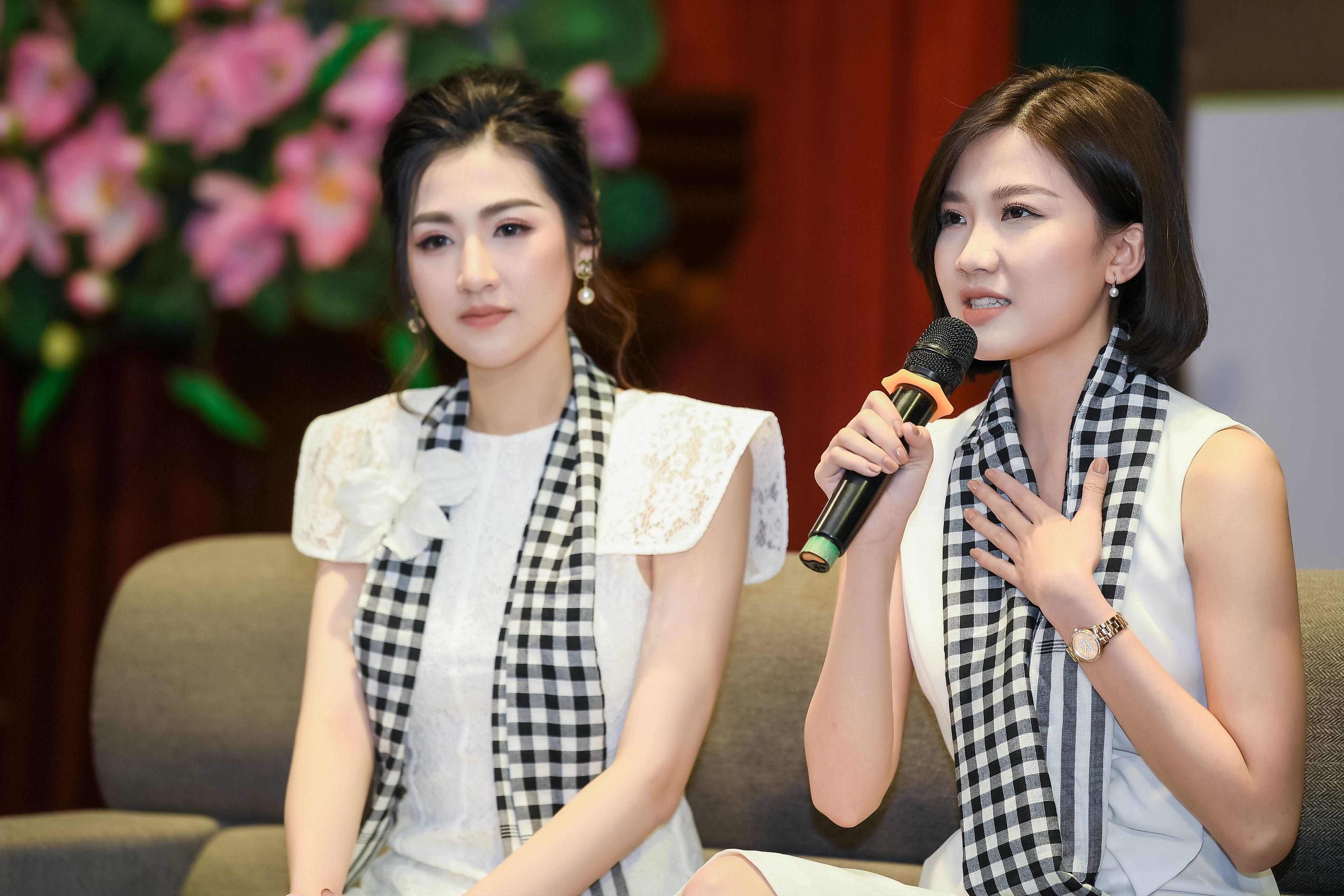 'Tiểu tam Trà' Lương Thanh đọ sắc bên Á hậu Tú Anh 4