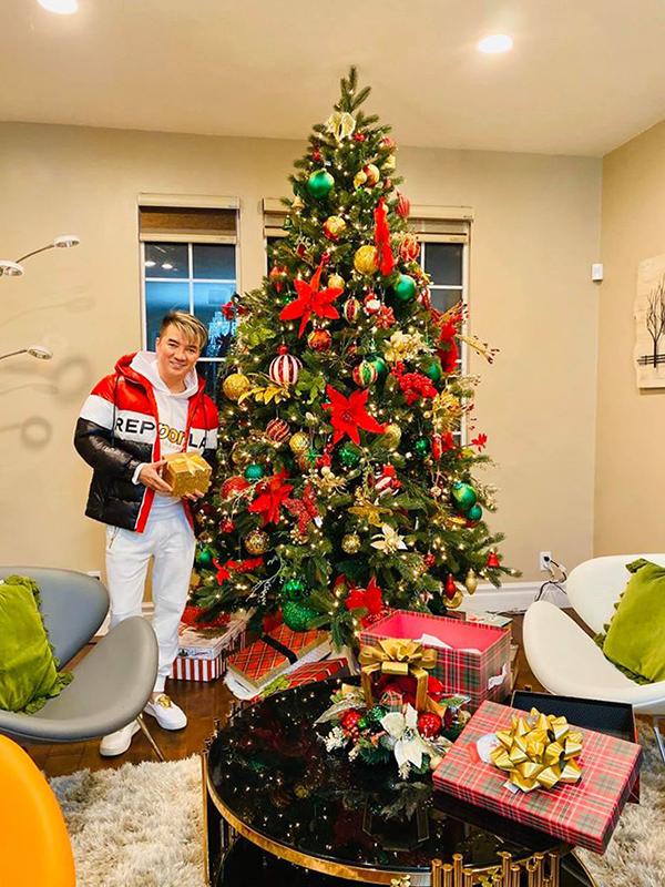Biệt thự của Đàm Vĩnh Hưng bên Mỹ được trang trí lộng lẫy đón Giáng sinh 3