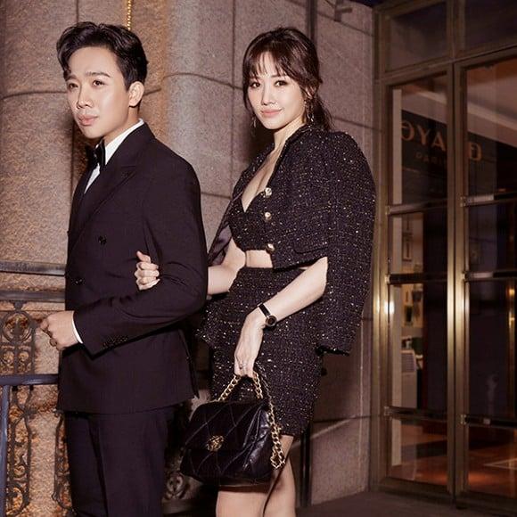 Diện cả cây Chanel đắt giá, Hari Won lại bị Trấn Thành chê bai vì lý do không ngờ này 1