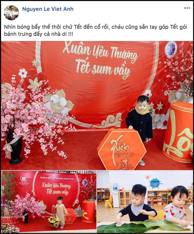 Việt Anh 'tái hợp' cùng vợ cũ vì con trai  1