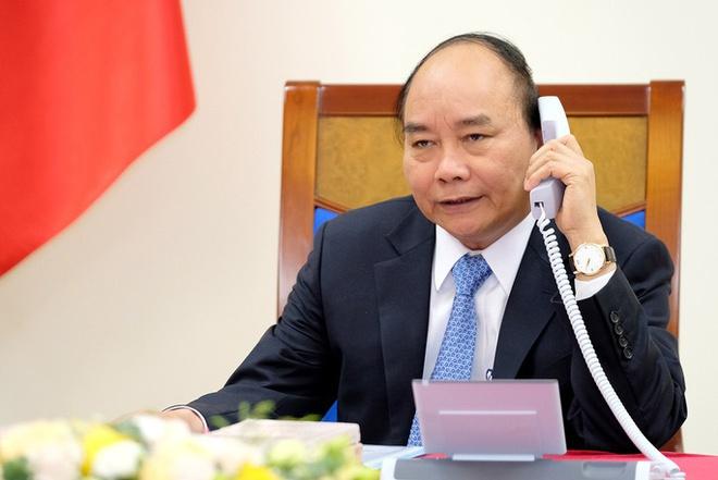 Thủ tướng Nguyễn Xuân Phúc điện đàm Tổng thống Indonesia ứng phó virus corona 1