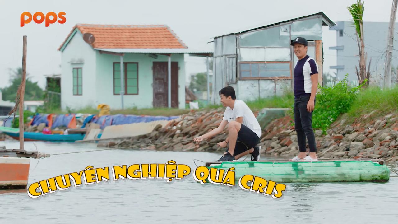 Cris Phan 'gục ngã' trước màn hội thoại tiếng Quảng Nam của Trường Giang 2
