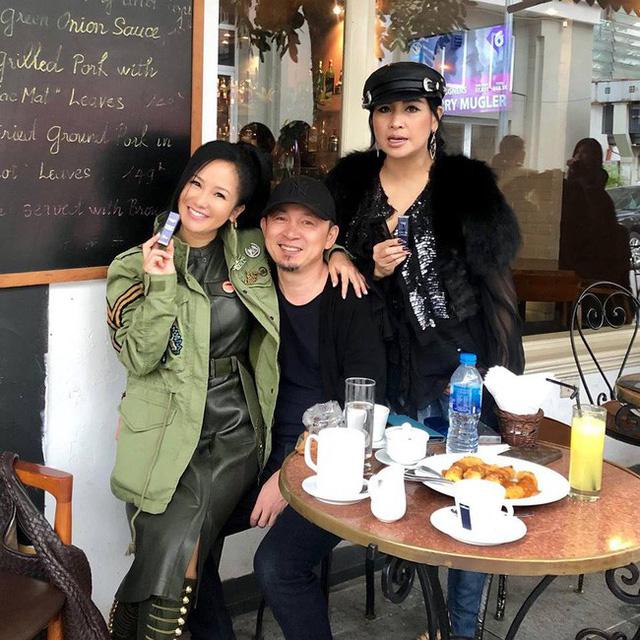 Hồng Nhung vô tư ngồi lên đùi Quốc Trung dù có mặt Thanh Lam, sự thật 17 năm trước bất ngờ được hé lộ  1