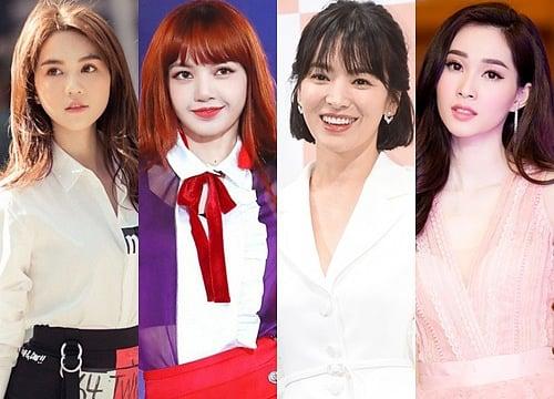 Phản ứng của Ngọc Trinh khi bất ngờ lọt top 100 gương mặt đẹp nhất châu Á cùng với Hoa hậu Đặng Thu Thảo 1