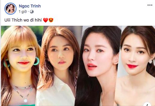 Phản ứng của Ngọc Trinh khi bất ngờ lọt top 100 gương mặt đẹp nhất châu Á cùng với Hoa hậu Đặng Thu Thảo 2