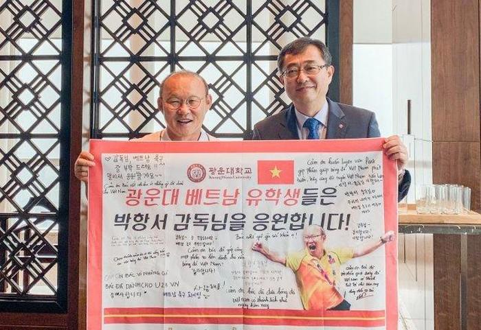HLV Park Hang-seo bất ngờ được phong Giáo sư ở Đại học Hàn Quốc 1