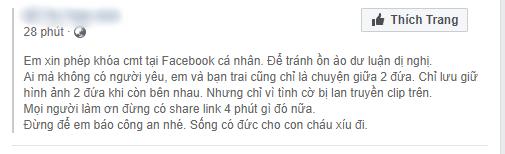 Hot girl Trâm Anh đăng dòng trạng thái sốc giữa 'tâm bão' nghi lộ clip nóng 2