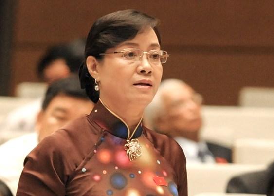 Bà Nguyễn Thị Quyết Tâm nói gì về việc ông Đoàn Ngọc Hải nộp đơn từ chức? 1