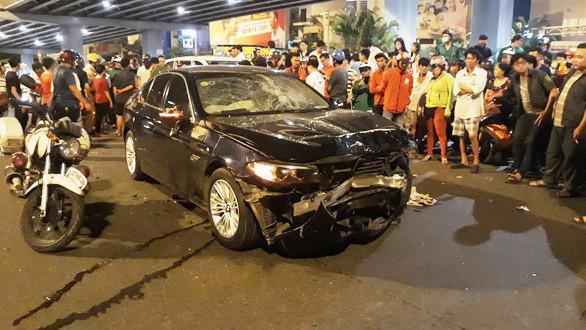 Diễn biến mới vụ nữ doanh nhân lái BMW gây tai nạn ở Hàng Xanh 1