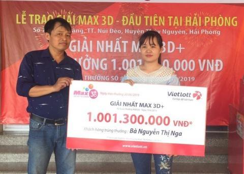 Xổ số Vietlott: Một khách hàng ở Cần Thơ trúng đến 600 giải 1