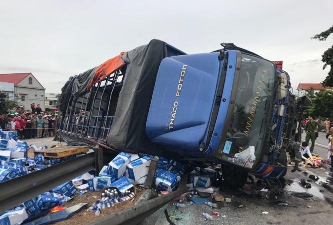 Vụ tai nạn thảm khốc ở Hải Dương: Khởi tố, bắt tạm giam tài xế xe tải  1