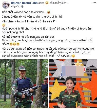 MC Hoàng Linh 'dằn mặt' dân mạng khi liên tục đòi xem clip nóng 1