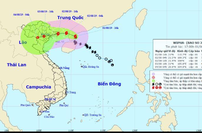 Tin bão mới nhất: Bão số 3 giật cấp 12 bất ngờ đổi hướng, Bắc Bộ mưa lớn diện rộng 1