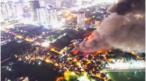 Hà Nội chính thức công bố nguyên nhân cháy nhà xưởng của công ty Rạng Đông 2