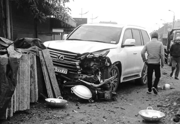 Chủ nhân ô tô Lexus biển ngũ quý 30A-777.77 gây tai nạn ở Hà Nội là ai? 1