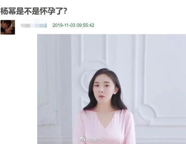 Dương Mịch bị nghi có bầu lần 2 sau gần 1 năm ly hôn với Lưu Khải Uy? 1