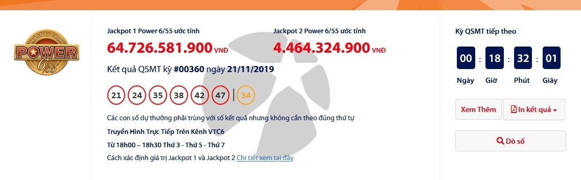 Xổ số Vietlott: Chủ nhân 'ẵm' giải Jackpot gần 67 tỷ đồng là ai? 1