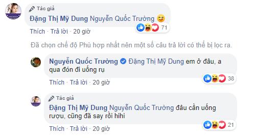 Midu bất ngờ 'réo tên' Quốc Trường, Harry Lu sau tin đồn tái hợp với Phan Thành 3